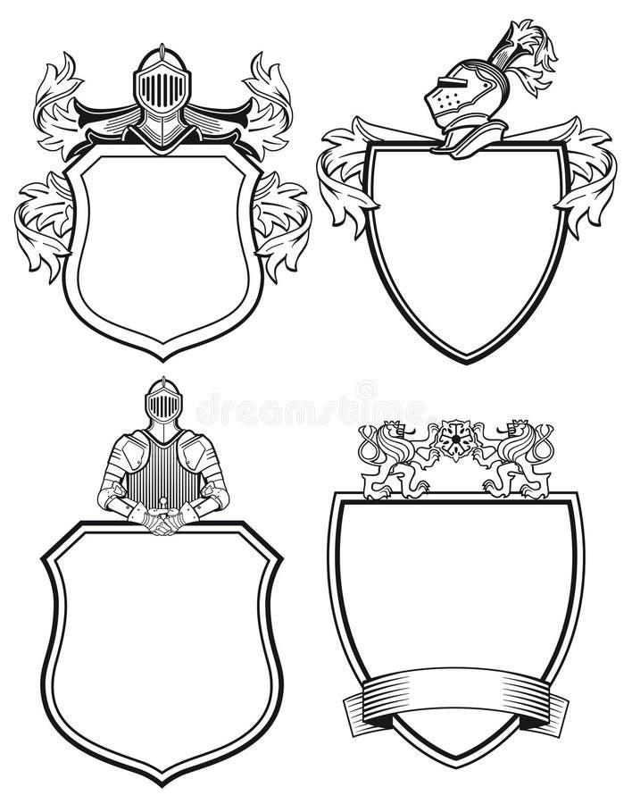 Escudos de armas libre illustration