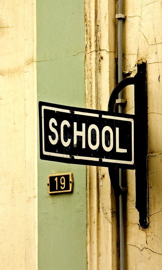 Escuela fotos de archivo