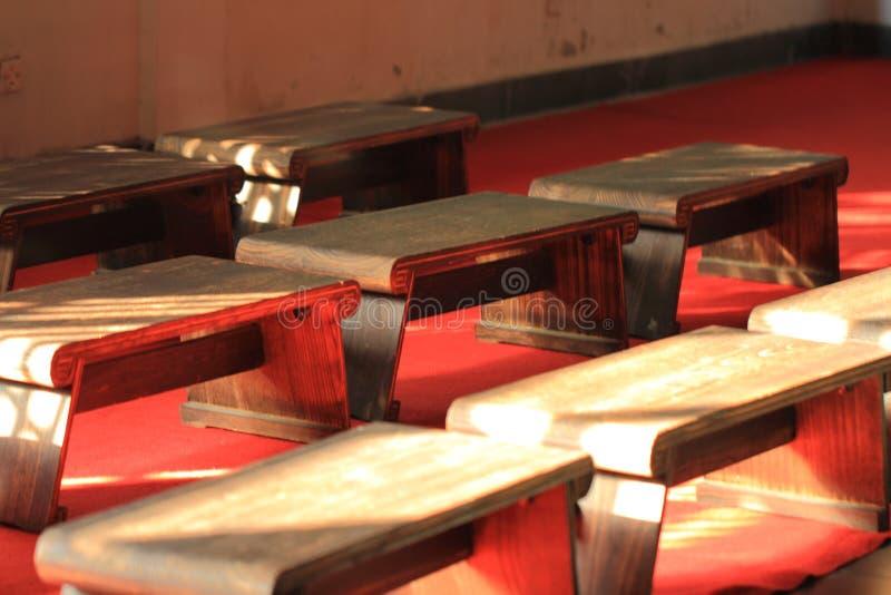 Escuela antigua característica tradicional china imagen de archivo libre de regalías