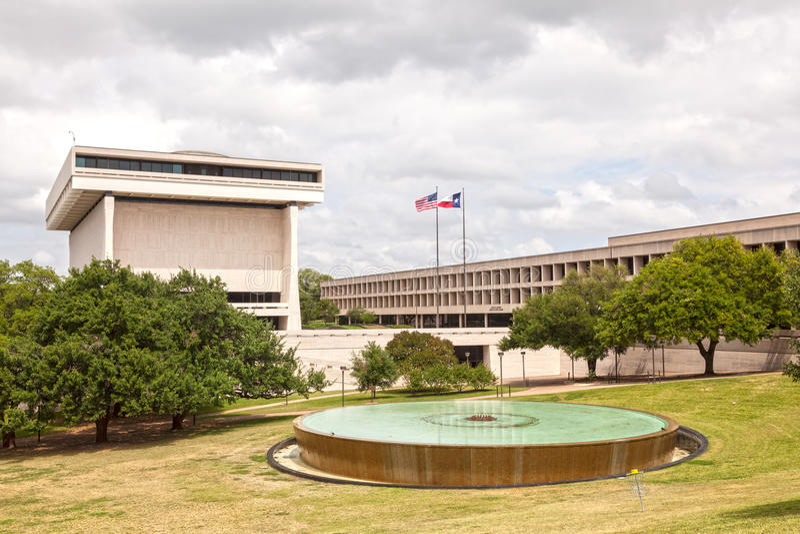 Escuela de asuntos oficiales en Austin, Tejas imagenes de archivo