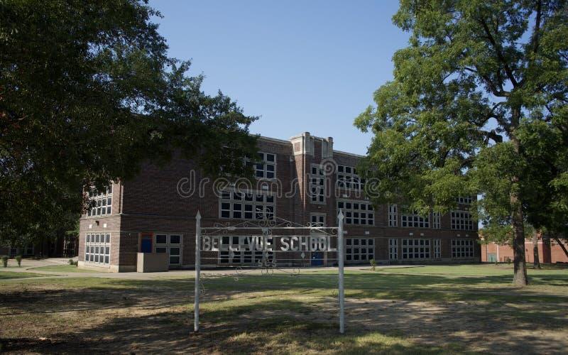 Escuela de Bellevue, Memphis, Tennessee foto de archivo libre de regalías