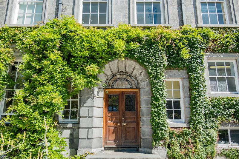 Escuela de la botánica en universidad de la trinidad imagen de archivo