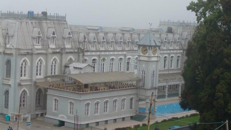 Escuela de los josephs del St darjeeling imagen de archivo libre de regalías
