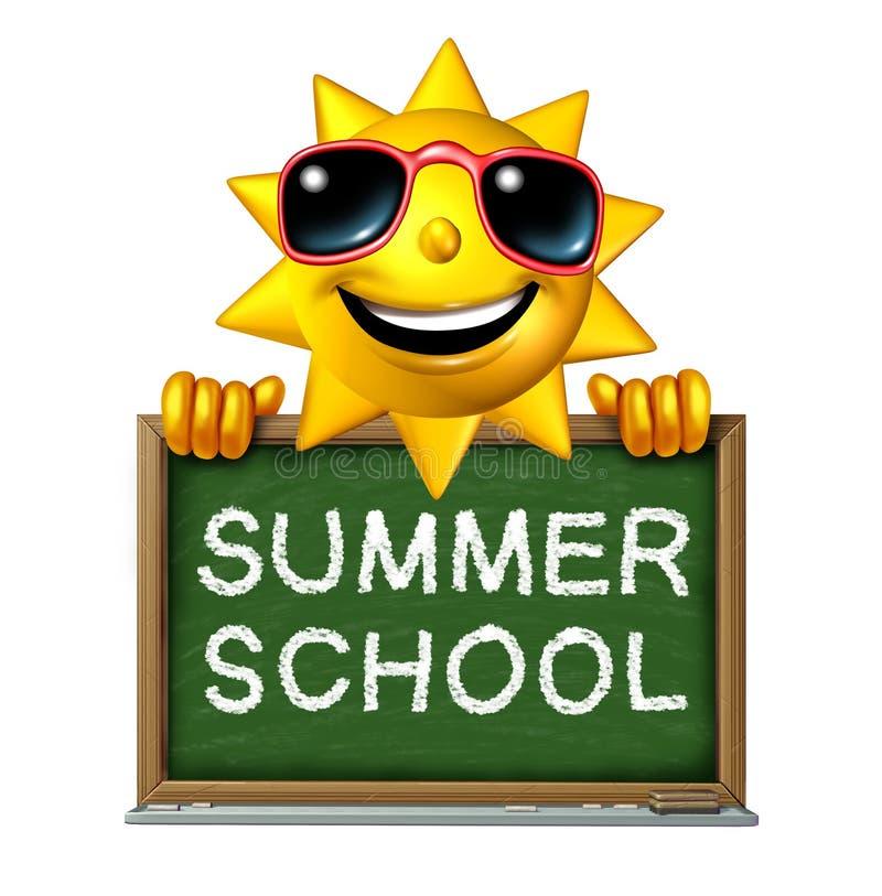Escuela de verano libre illustration