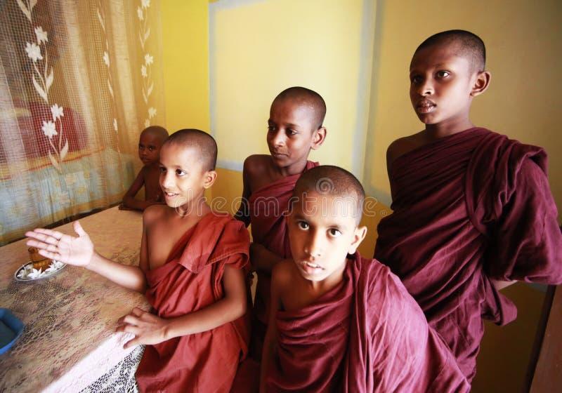 Escuela del Buddhism foto de archivo libre de regalías