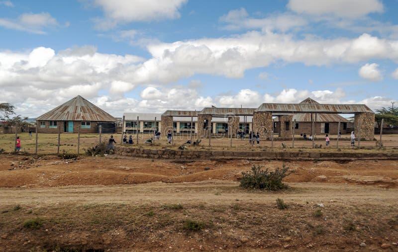 Download Escuela en Kenia imagen editorial. Imagen de ambiente - 42438635