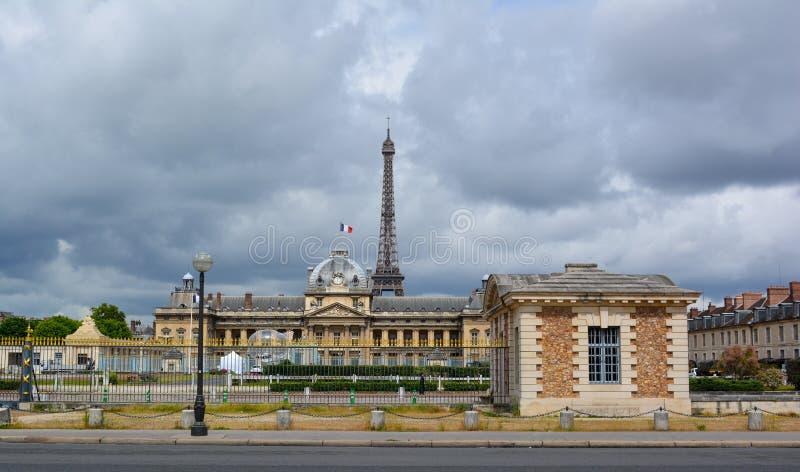 Escuela militar de París imagenes de archivo