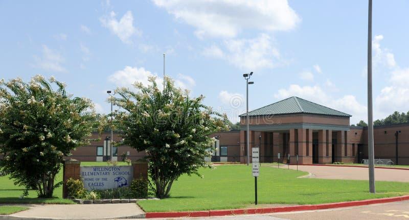 Escuela primaria de Millington fotos de archivo