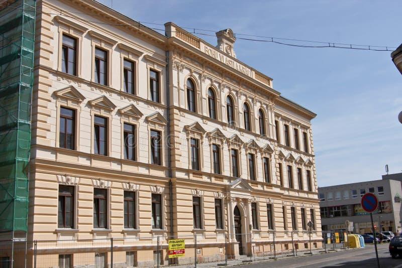 Escuela primaria, Rokycany, República Checa imágenes de archivo libres de regalías