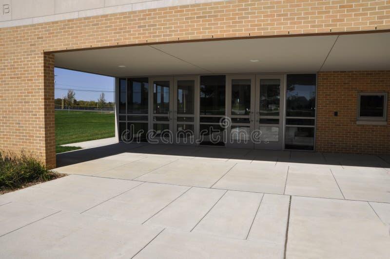 Escuela secundaria de Whitehall en Pennsylvania imagen de archivo libre de regalías