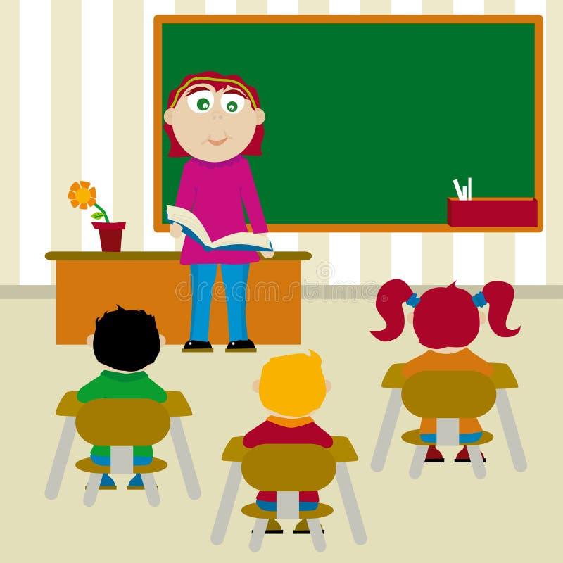 Escuela (Vektor) lizenzfreie abbildung