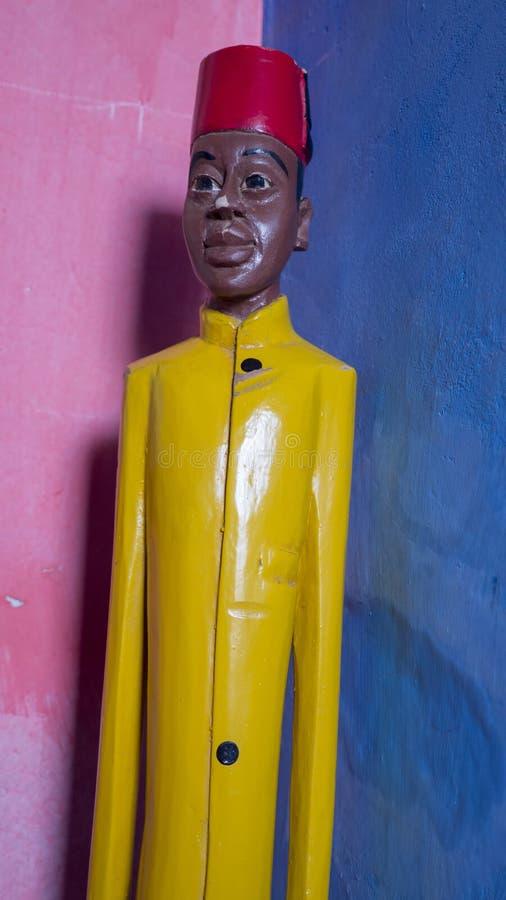 Escultura africana fotografia de stock royalty free