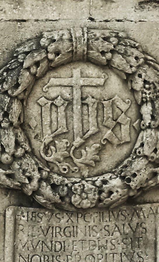 Escultura antiga imagem de stock