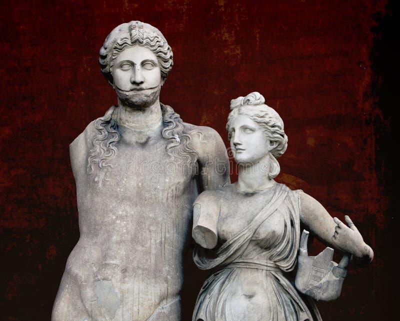 Escultura antigua foto de archivo libre de regalías