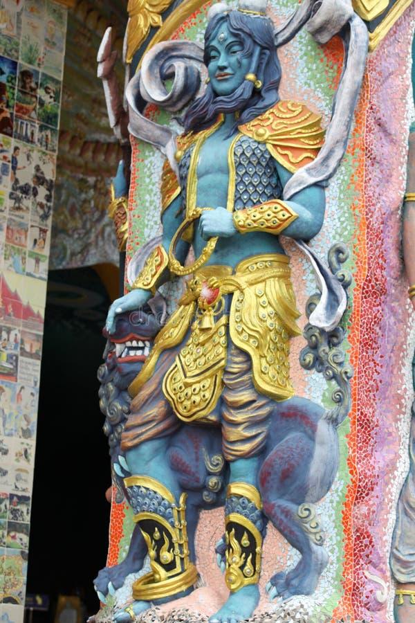 Escultura, arquitectura y símbolos del budismo, Tailandia imagen de archivo