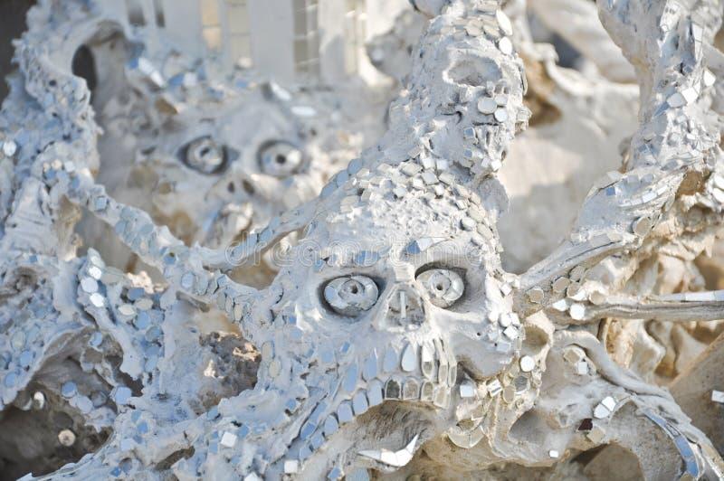 Escultura assustador imagens de stock