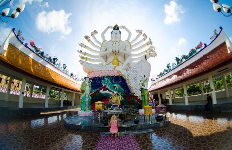 Escultura budista foto de stock