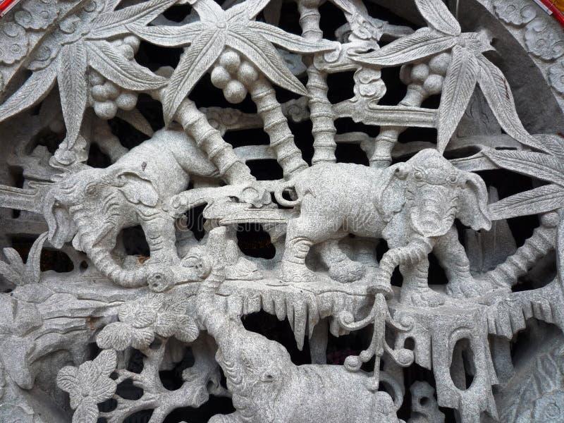 Escultura chinesa imagens de stock