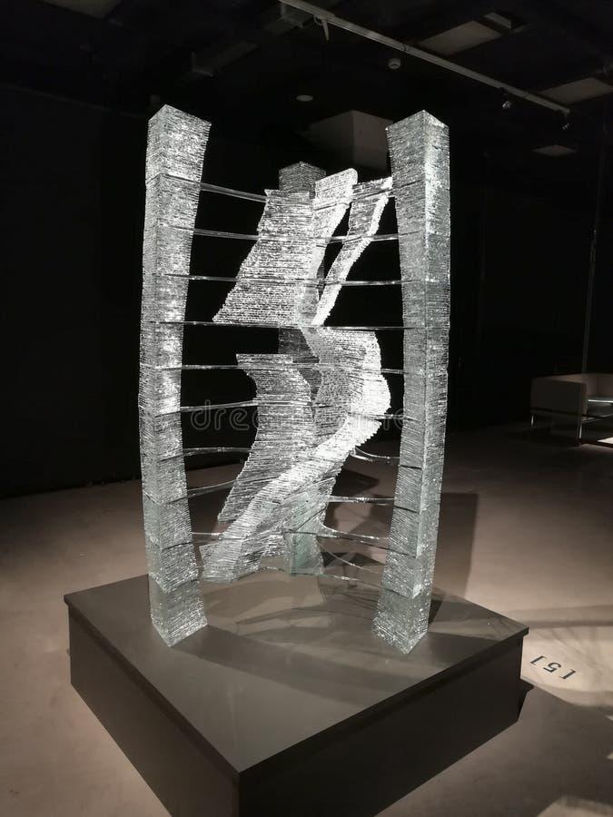 """escultura de Aere del  del """"Gaiss†en la exposición fotografía de archivo libre de regalías"""