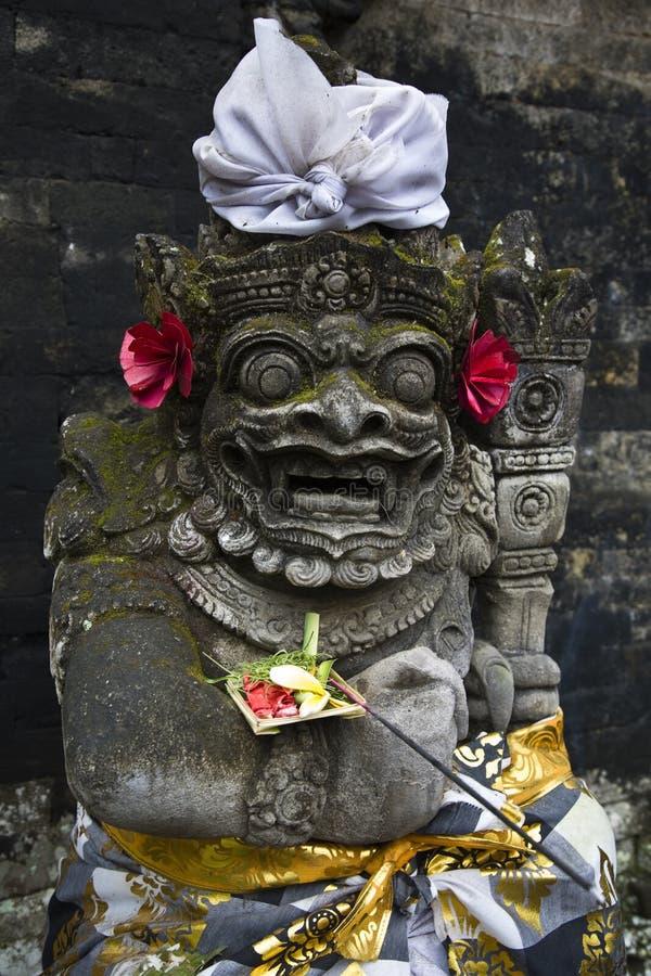 Escultura de Bali fotografia de stock royalty free