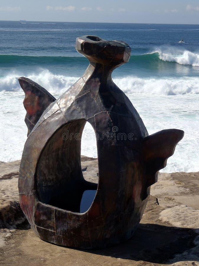 Escultura de bronze fotografia de stock