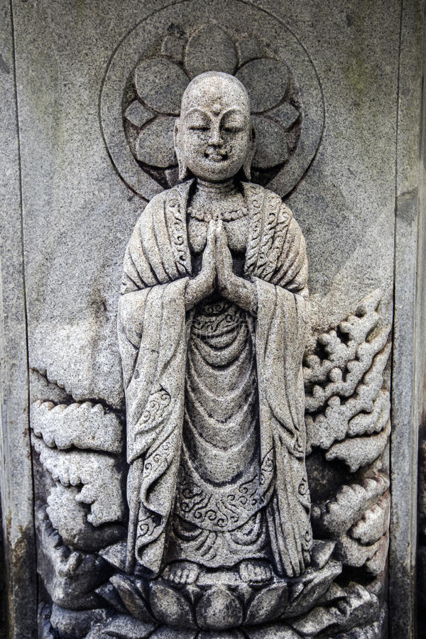 Escultura De Buda Del Japons Imagen de archivo Imagen de buddhism