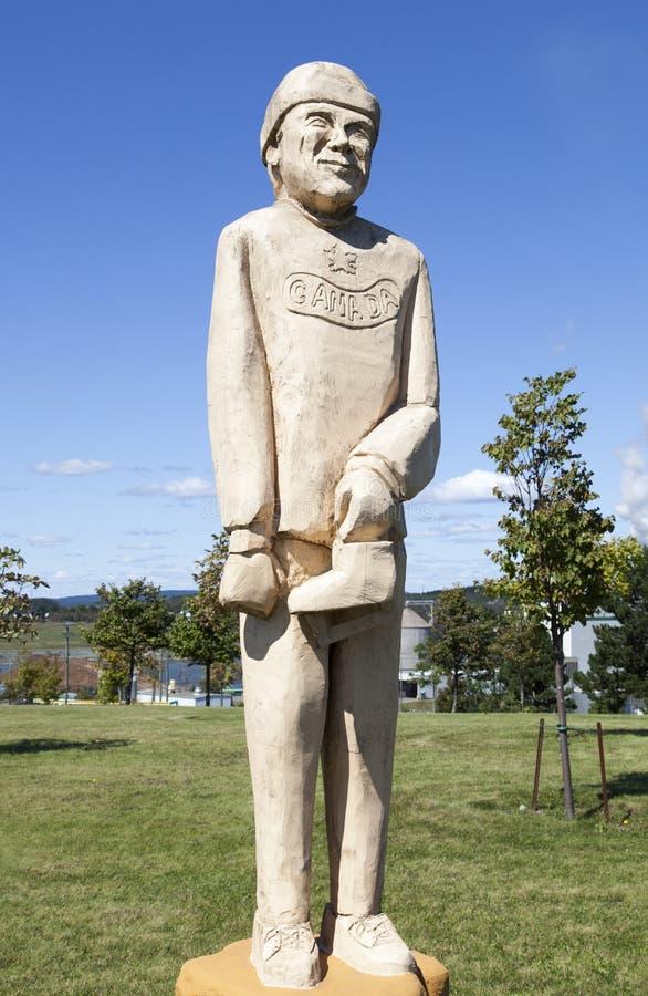 Escultura de Canadá imágenes de archivo libres de regalías