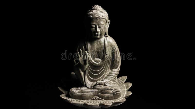 Escultura de Guan Yin /Guanshiyin del Bodhisattva/de Avalokitasvara fotografía de archivo libre de regalías