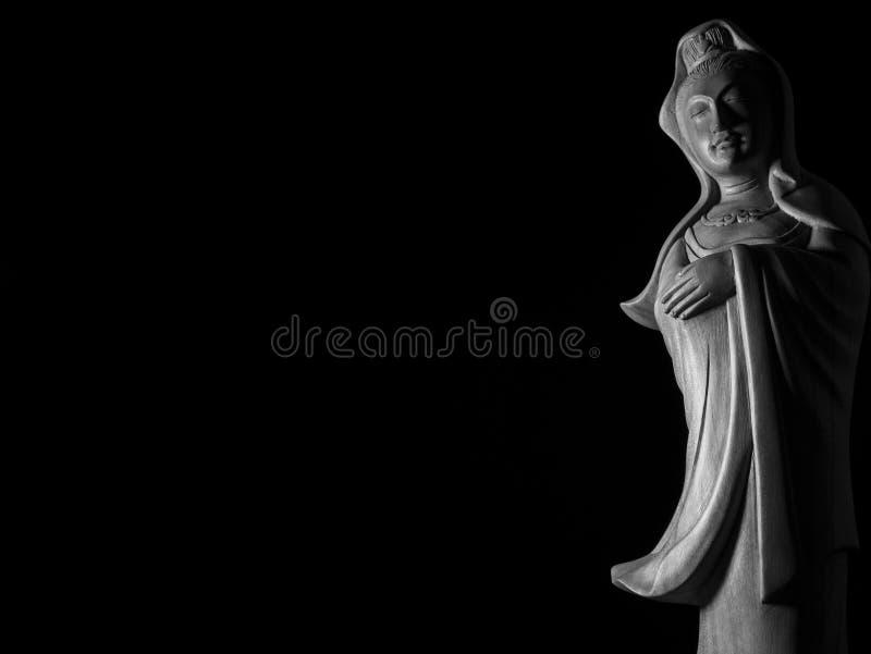 Escultura de Guan Yin /Guanshiyin del Bodhisattva/de Avalokitasvara fotos de archivo