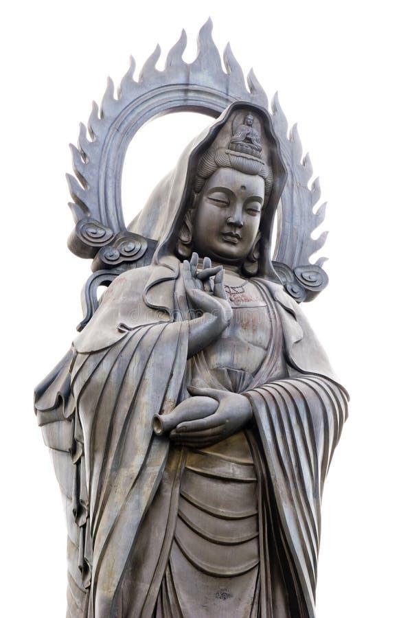 Escultura de Kwan-yin imagem de stock