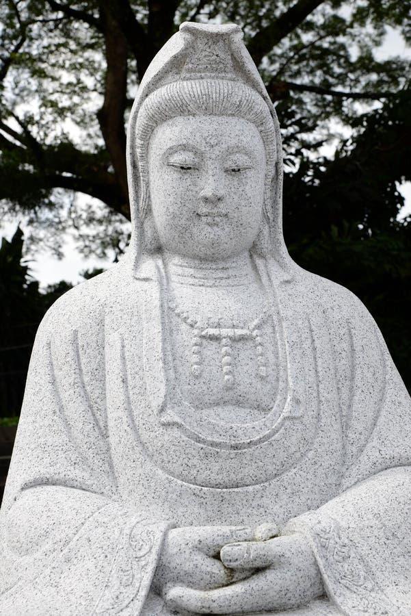 Escultura de Kwan Yin de la diosa foto de archivo libre de regalías