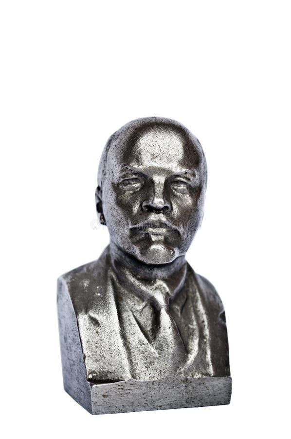 Escultura de Lenin imágenes de archivo libres de regalías