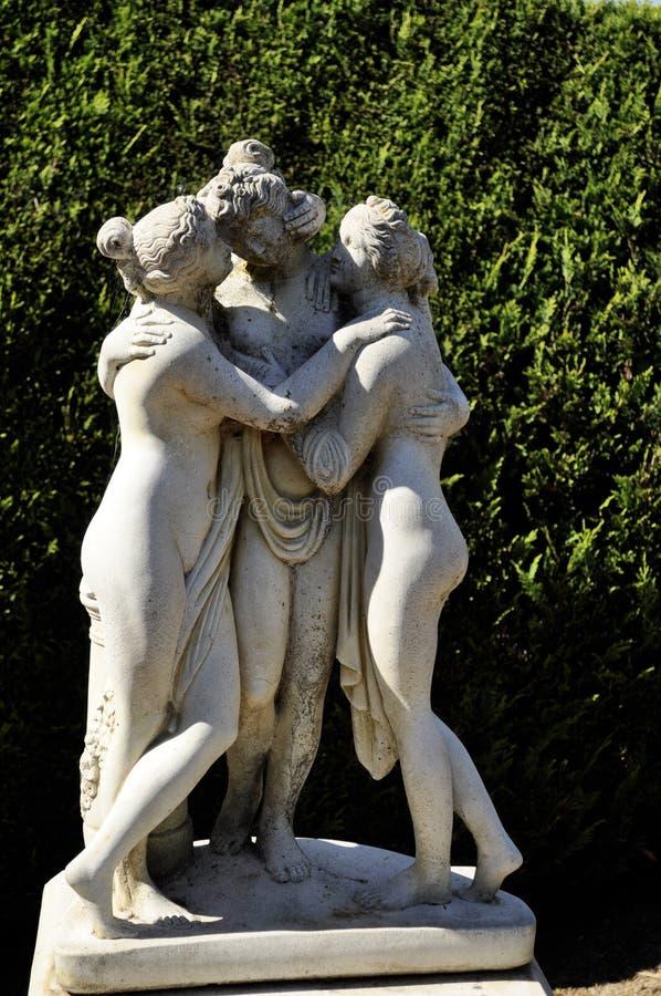 Escultura De Pedra Fotografia de Stock Royalty Free