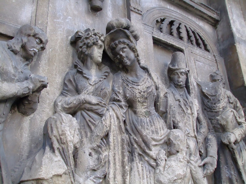 Escultura de pedra 3 fotos de stock royalty free
