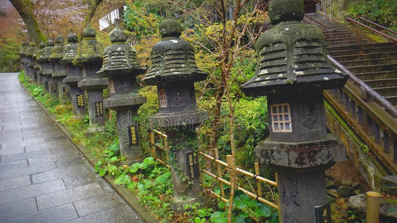 Escultura de pedra asiática imagens de stock royalty free