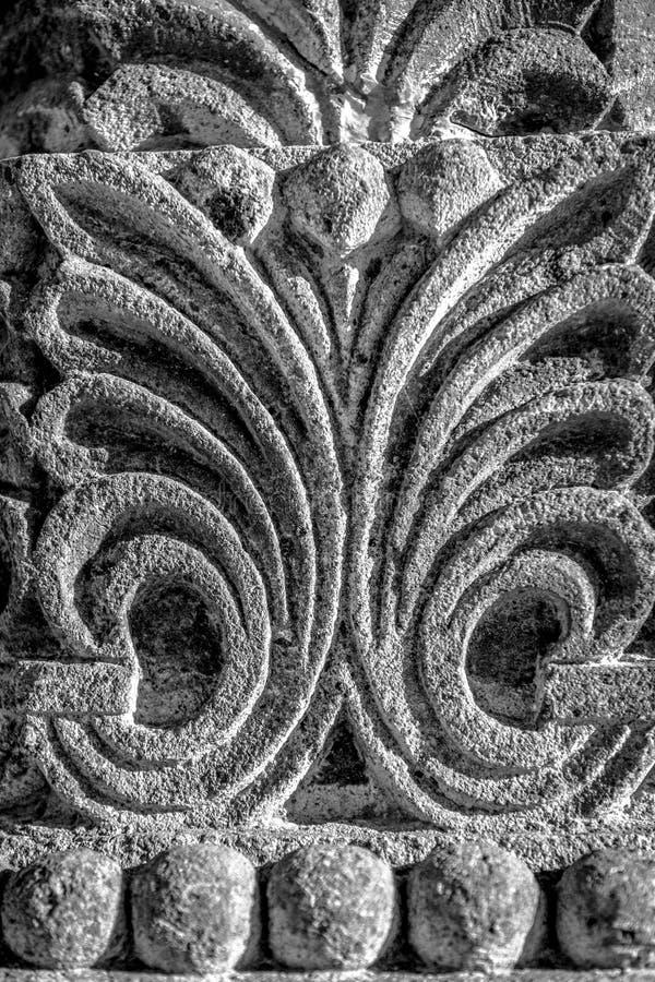Escultura de pedra da textura armenian imagem de stock