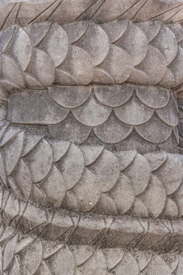 Escultura de pedra dos dragões do castelo de Shuri na vizinhança de Naha, a capital de Shuri de Okinawa Prefecture, Japão imagem de stock royalty free