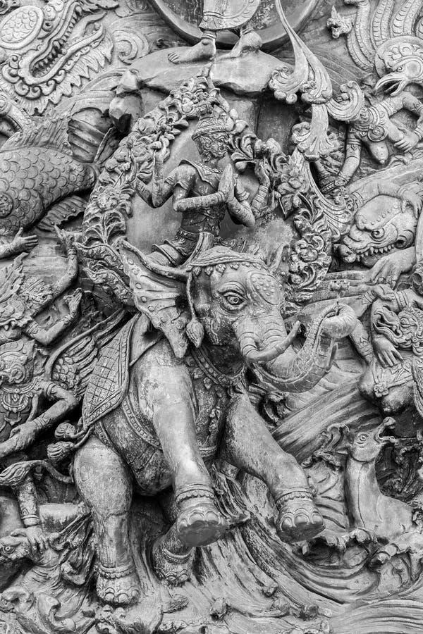 A escultura de Ramayana foto de stock royalty free