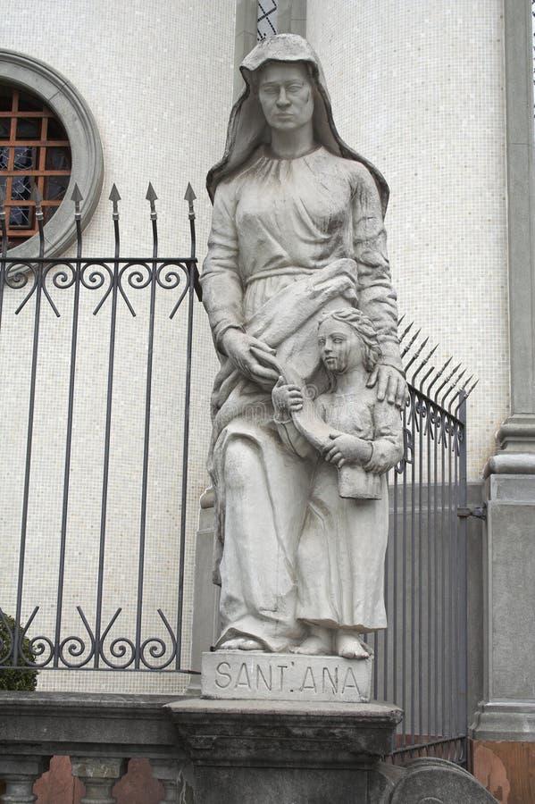 Escultura de Santa Ana imagens de stock royalty free