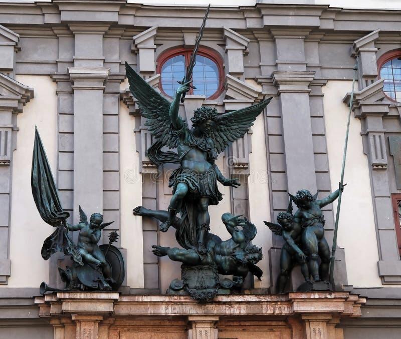 Escultura del ángel fotos de archivo libres de regalías