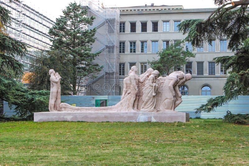 escultura del artista James Vibert fotografía de archivo libre de regalías