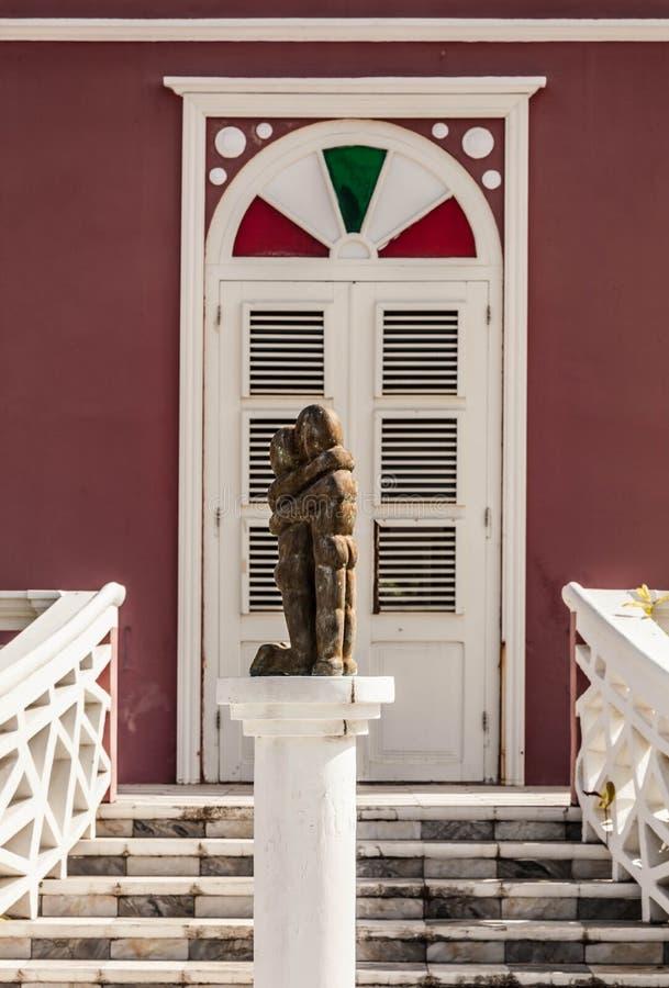 Escultura del distrito de Scarloo imagen de archivo