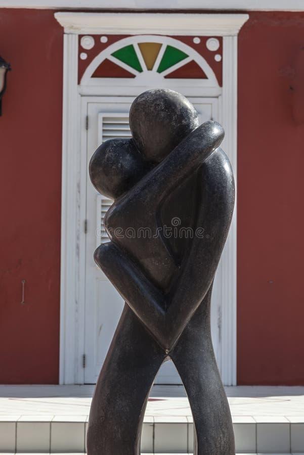 Escultura del distrito de Scarloo fotos de archivo