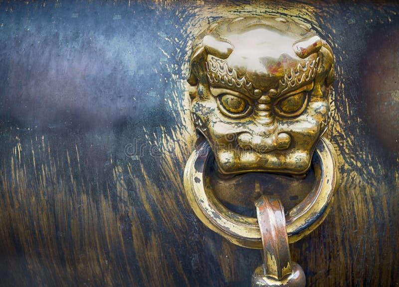 Escultura del dragón de la ciudad Prohibida, Pekín, China fotos de archivo