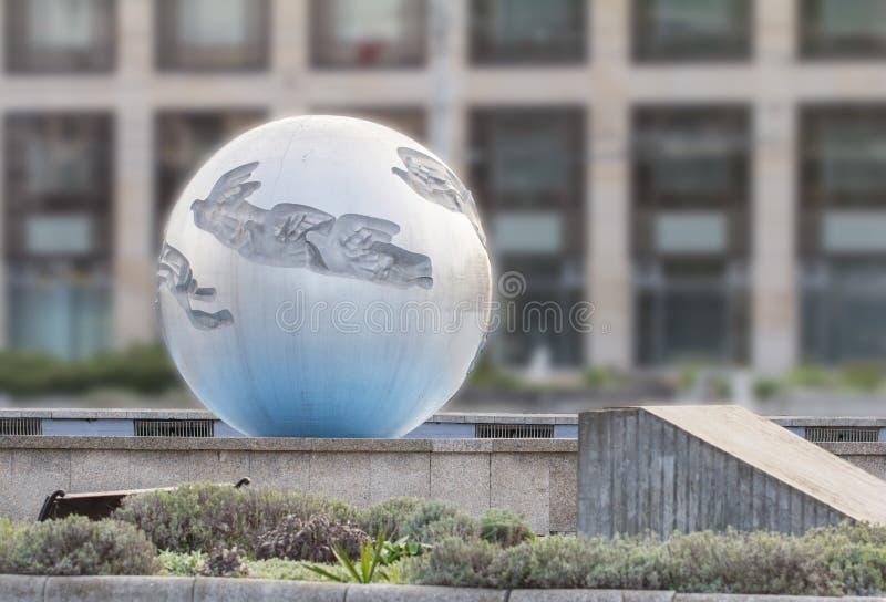 Escultura del globo imágenes de archivo libres de regalías
