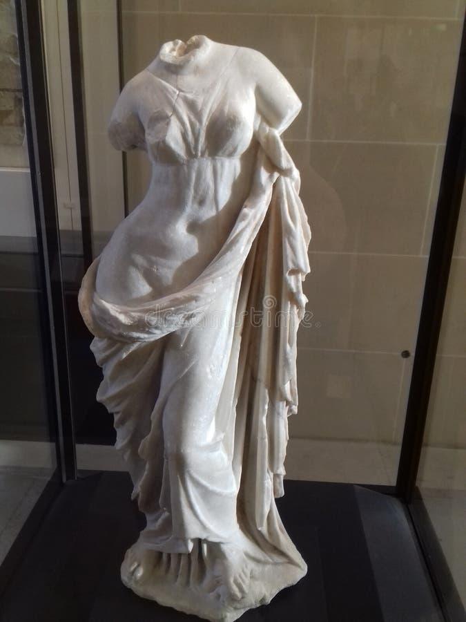 Escultura del griego clásico imagen de archivo