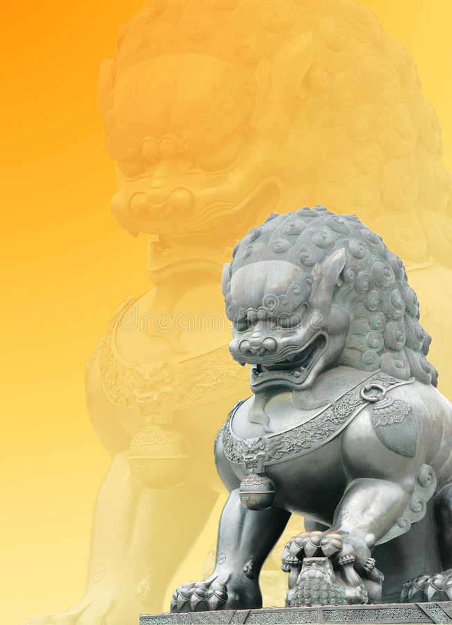 Escultura del león fotos de archivo libres de regalías