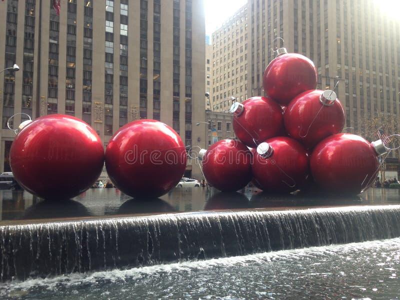 Escultura del ornamento de la Navidad imagenes de archivo
