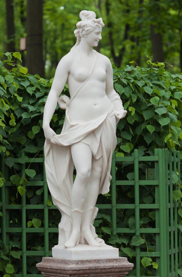 Escultura del Thalia fotos de archivo libres de regalías
