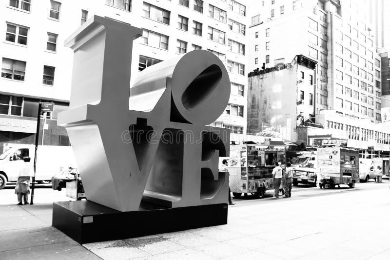Escultura do amor fotografia de stock royalty free